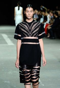 Alexander Wang Spring 2013: The Innovation is in the Stitching - Fashion Week - Racked National