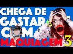 CRIANDO KIT DE MAQUIAGEM CASEIRA SEM GASTAR NADA #2 - DICA DE POBRE :P   KIM ROSACUCA - YouTube
