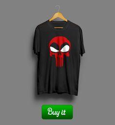Skull | Быть супергероем не просто. Ты можешь спасти весь мир от злодеев, катаклизмов и даже от очередей в супермаркетах. Но ты никогда не спасешь мир от себя. Особенно, если ты - Дэдпул. #Deadpool #Дэдпул #XMen #Skull #Marvel #Comics #Марвел #Дедпул #футболки #Tshirt