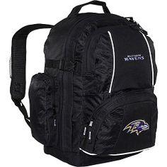 Concept One Baltimore Ravens Trooper Backpack - Black