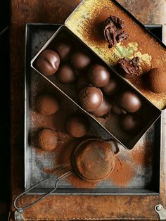 Chocolate Caramel Truffles | Donna Hay