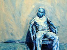 Always Alexa Meade-- painting people to look 2D