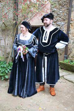 Mittelalter Hochzeit Mittelalterkleid Mittelaltergewand Brautgewandung
