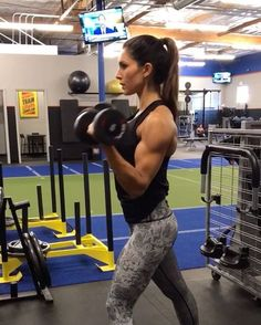"10k Likes, 243 Comments - Alexia Clark (@alexia_clark) on Instagram: ""Upper Body  BOOM  1. 8 reps each side  2. 10 reps of each variation  3. 15 reps each side  4. 10…"""