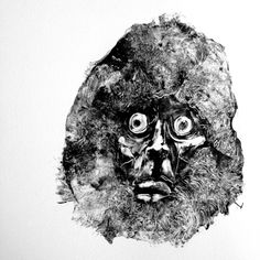Grady Gordon's Ghoulish Monotype Prints - Beautiful/Decay Artist & Design