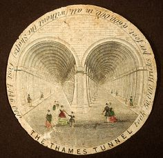 thames tunnel | Thames Tunnel watchpaper, c.1840s (Rickards Collection, University ...