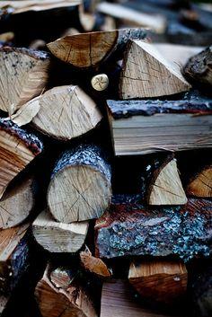 wood fires...