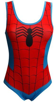 Marvel Comics Amazing Spiderman Bodysuit for women (Medium) - love love love NEED.