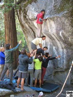 Wall Climbing In Yosemite On Pinterest Bouldering Red