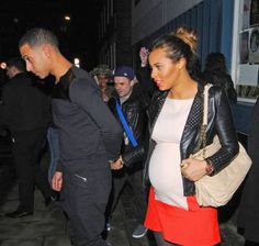 Just as I suspected The Saturdays Rochelle Wiseman gave birth to a little baby girl this morning who they have named Aaylia May.     It was just last week that new daddy Marvin Humes, member of the soon to be defunct boyband JLS and now Capital Radio DJ, seemed to let slip the sex of their new arrival during an interview with the breakfas...