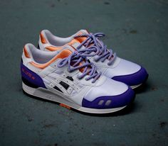 Asics Gel Lyte III OG-White-Purple