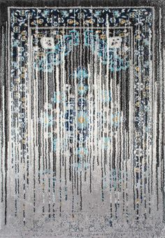 Loving the ombre effect of this Rugs USA Clearfield TP02 Tinted Traditional Talisman Rug!