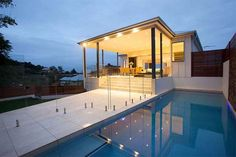 Cool-and-Very-Beautiful-Brisbane-Residence-Swiming-pool-views