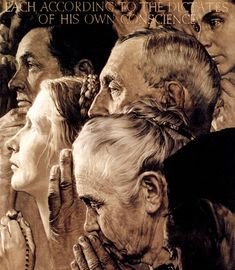 Faith in America...Rockwell was a study in us.