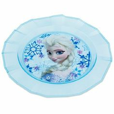 Disney Frozen Elsa Plate.  For details or ordering click on the image!