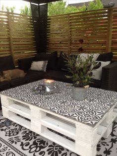 Tavolini con pallet. Abbiamo selezionato per voi oggi 20 tavolini molto belli e originali realizzati con i bancali. Lasciatevi ispirare e liberate la vostra