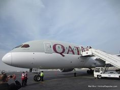 Qatar Airways Boeing 787 Dreamliner Delivery Flight