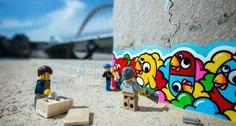 """Los muñecos de LEGO, pillados """"infraganti"""" por Samsofy - Republica.com"""