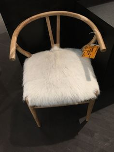 Dining Chair - shape good but not furry