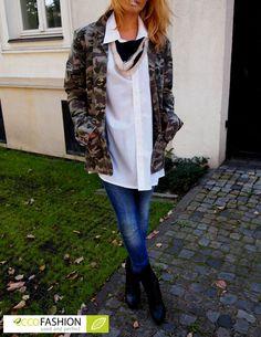 Żołnierski motyw ciągle w modzie!   #eccofashion #eko #ecco #stylizacje #inspiracje #moda #girl #buty #shoes