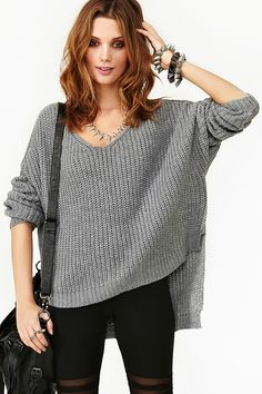 Cambridge Knit in Gray