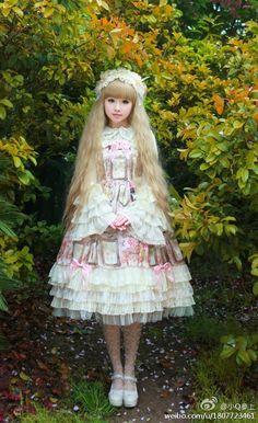 lolita hime - Fantastic dress and look !!! (Chloe Sissi)