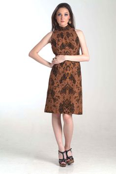 koleksi busana model dress batik masakini tang ada ditoko online