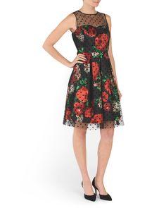 Floral Illusion Top Dress