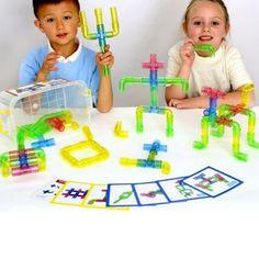 Tuberías Translúcidas - Juego De Construcción Educational Advantage EDA-EA551 Kinuma.com Shopping, Pool Slides, Mesas De Luz, Toys, Activities, Presents
