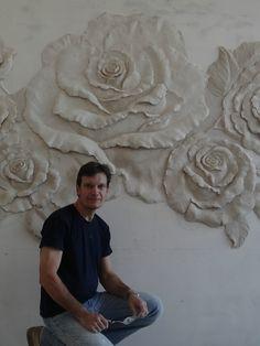 1 million+ Stunning Free Images to Use Anywhere Plaster Sculpture, Wall Sculptures, Sculpture Art, Plaster Crafts, Plaster Art, Plaster Walls, Paris Kunst, Paris Art, Mural Wall Art