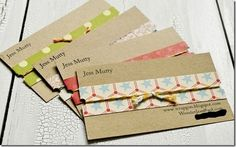 business card designs for crafters - Google Search