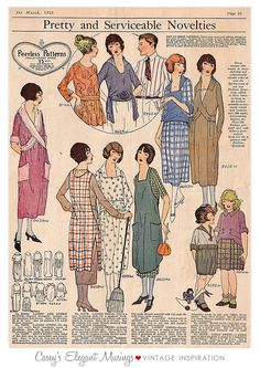 06.19.09 {1920s serviceable styles} by elegant musings, via Flickr