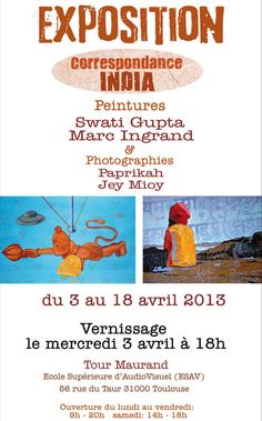 L'invitation Saison Indienne
