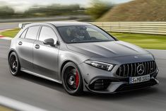 Mercedes AMG A 45 S can have 4 VW equal 20 turbo engine Luxury Sports Cars, Audi Rs3, Mercedes Benz Amg, Ford Focus, Classe A Amg, Audi A3 Sedan, 2012 Nissan 370z, A3 8p, Toyota