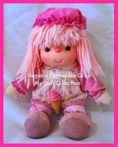 Boneca Sorvetinho Estrela 1982/83 Brazilian Ice Cream Kid Doll by Estrela, 80's