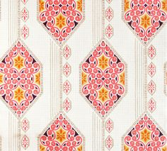 Vintage Wallpaper Windows in lanes by Retro Villa Vintage Wallpaper Patterns, Retro Wallpaper, Pattern Wallpaper, Vintage Wallpapers, Coral Wallpaper, Room Wallpaper, Textiles, Textile Patterns, Graphic Patterns