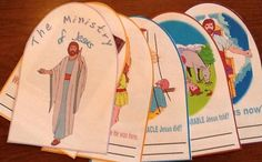 Life of Jesus booklet; love,love, LOVE this idea. doing it sunday for sure.
