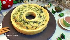 Wreath Spinach quiche #christmas #2015 #xmas