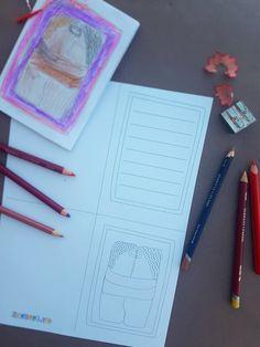 Poți să realizeziaceastă felictare inspirată din opera lui Brâncuși de Dragobete,  1 Martie sau oricând vrei să spui cuiva drag că îl iubești.  Imprimă felicitarea, colorează desenul cu Sărutulși scrie un mesaj. Îndoiae apoi felicitarea pe linia punctată, astfel încât desenul cu Sărutul să fie pe copertă.  Adaugă un șnur de mărțișor dacă oferi felicitarea de 1 Martie.