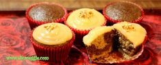 Receita básica de bolo vegano e cupcakes de laranja e chocolate.