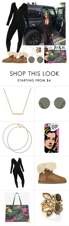 """""""You Think You Know Me."""" by dopegenhope ❤ liked on Polyvore featuring Moon and Lola, Forever 21, Wet Seal, UGG Australia, Valentino, Alexis Bittar, westbrooks, indialove, indialovewestbrooks and illyil"""