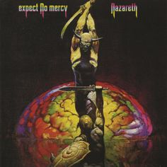 "Nazareth ""Expect No Mercy"" album cover, illustration by Frank Frazetta"