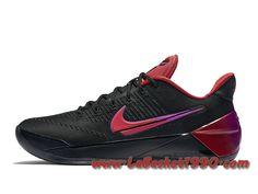 b58195191fd9 Nike Kobe A.D. Flip The Switch Chaussures Nike Officiel Pas Cher Pour Homme  Noir Rouge 852425