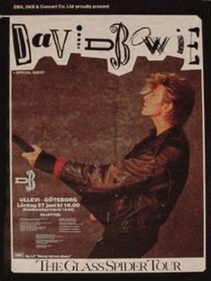 #DavidBowie #1987 #Gothenburg
