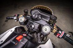 TOXIC AVENGER. VTR Customs' Killer 'White Venom' BMW R1200R Nitrous Racer - Pipeburn.com