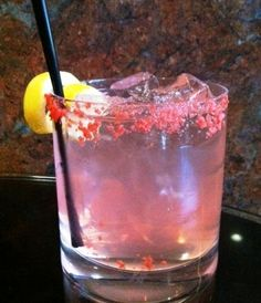 Drink Pink in October for Breast Cancer Awareness - The Pink Passion Cocktail #VikingPINK