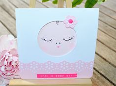 A personal favorite from my Etsy shop https://www.etsy.com/listing/251130539/handmade-card-to-welcome-a-baby-girl-or