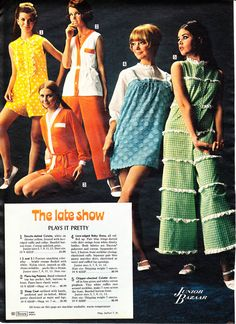 """The late show - plays it pretty""""    1968 Sears Wish Book 061"""