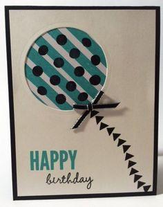 Celebrate Today, Balloon Framelits, Birthday Dash DSP - Stampin' Up!