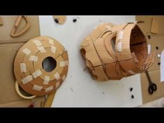 #75: Star Wars Stormtrooper Helmet Part 1 - Cardboard (free PDF) Cosplay How To - YouTube
